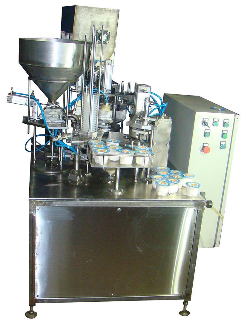 Фасовочное оборудование автомат фасовки творога в  стаканы  АФ-1500